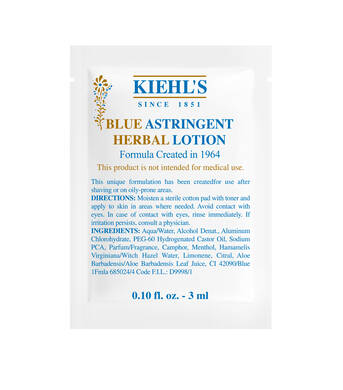 Blue Astringent Herbal Lotion 3ml