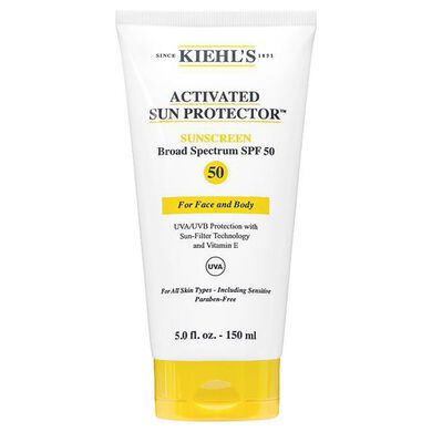 Activated Sun Protector For Face and Body