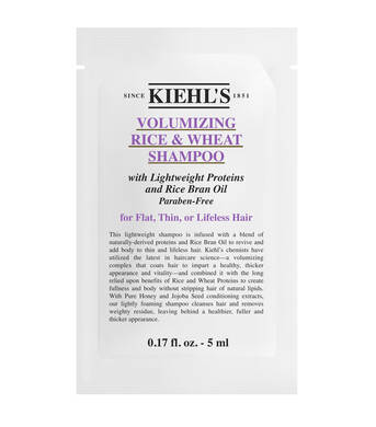 Rice & Wheat Volumizing Shampoo